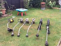 6 garden strimmers selling as not working