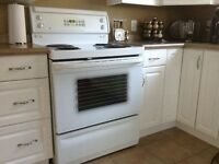 GE Electric Stove and dishwasher