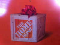 Home Depot Store Credit $270 for only $200!!