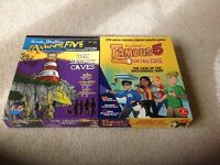 2 X Famous Five Mystery Jigsaw Puzzle Games.