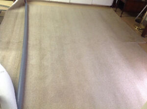 """New carpet 9'8"""" X 7'4"""" Beige. Never used."""