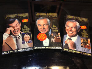 Johnny Carson the tonight show His favorite moments 3 new VHS