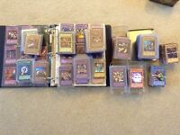 Yugioh cards, pokemon cards