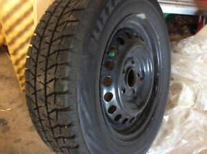 Used Snow Tires, 195-65-15