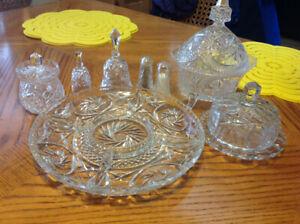 Pinwheel crystal accessories