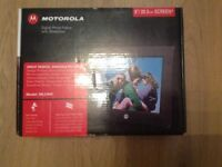 Motorola digital photo frame
