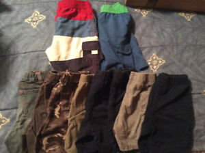 8 Pairs of 3T Boys Shorts and 2 Swimming  Trunks