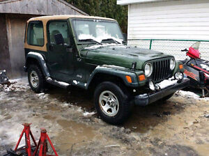 Looking for a 97 jeep tj 2.5L motor
