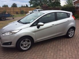 Ford Fiesta Zetec 1.25l 13 plate, silver, immaculate condition