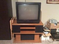 TV AND STAND !!!!!