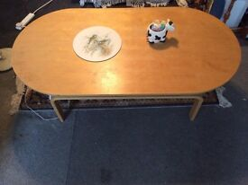 Coffee table it's size 1350x700x480 high