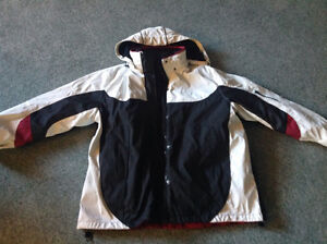 New..size L ...COAT...WITH FLEECE LINER