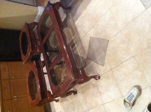 Beautiful cherry wood Victorian coffee table