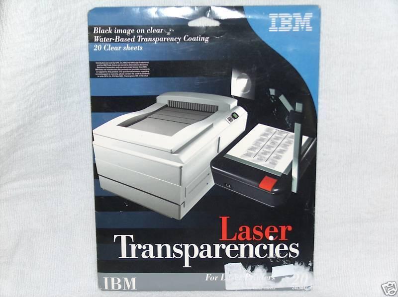 IBM 24L5042 Transparencies Qty 19 Sheets