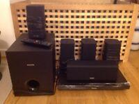 Phillips 5.1 3d blu-ray surround sound