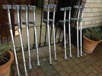 Coopers Elbow Crutches x 5 Pairs Job Lot
