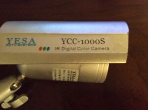 YCC1000S: Color Waterproof IR Camera