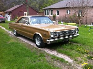 1966 Plymouth Satellite 383 Rust Free Bone Dry
