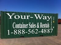 Bracebridge/ Huntsville storage containers from 80.00 per month