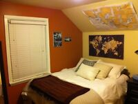 Room for rent close to downtown & uvic/camosun bus routes