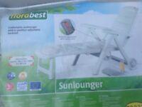 Sun lounger..Brand new