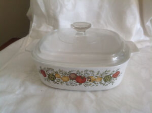 Corning Ware Spice of Life 8 Cup 2 Litre Casserole & Cover