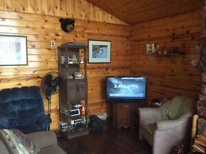 furnished year round cabin at Emma Lake Sunset Bay
