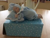 Musical baby on. Pillow
