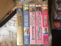Job lot - Elvis VHSs