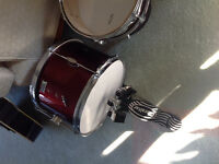 GIBRALTAR FOOT PEDAL and BASS DRUM
