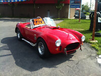 Replica 1969 Shelby Cobra, Red