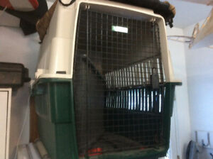 Cage à chien grand format avec housse Cabelas
