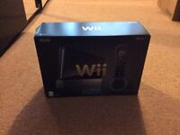 Black Nintendo Wii Games Console