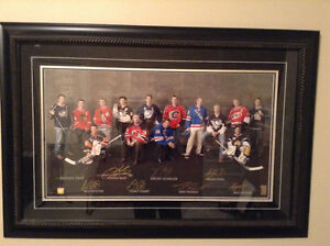 Crosby Toews Kane Staal Kopitar autographed picture