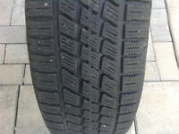 4 WINTER TIRES ON RIMES 5 HOLES