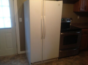 Whirlpool side by side fridge freezer