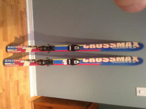 Skis -used salomon crossmax