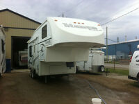 2001--24EX--GLENDALE TITANIUM 5TH WHEEL--CALL JORGE 519-636-0838