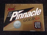 PINNACLE GOLD LS GOLF BALLS SOFT FEEL.