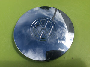 Enjoliveur / Cap de roue VW chromé 1967-