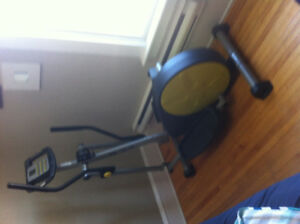 Machine exercice elliptical