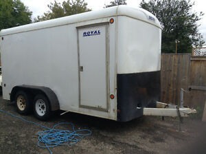 14' by 7' enclosed cargo trailer ***REDUCED***