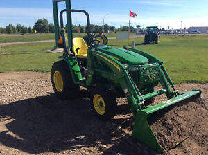 JOHN DEERE 3039R PREMIUM TRACTOR WITH LOADER LIST $47,238.