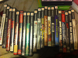 URGENT NEED OF SALE! PS2 Games for sale! All included!