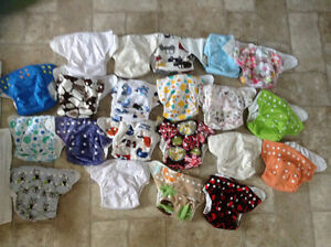 Everything you need to cloth diaper from infant to toddler