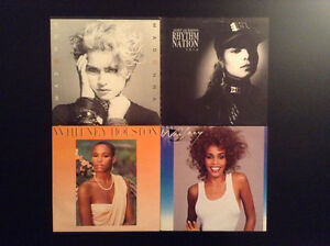 Five (5) of the BIGGEST Stars from the 80's on Vinyl LP London Ontario image 2