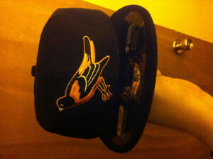 Baltimore orioles mlb new era fitted  hat size 8 nwt