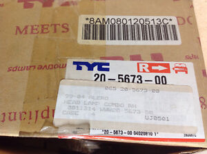 **NEW IN BOX** 1999 - 2004 Alero headlight assembly TYC 20-5673 Cambridge Kitchener Area image 3