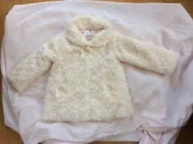 John Lewis girls coat