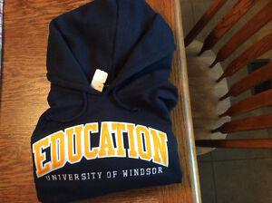 Large U of Windsor Education Hoodie-new Windsor Region Ontario image 1